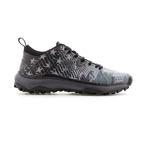 Boombah Men's Squadron Black Ops Turf Shoes Black/Charcoal/Gray - Size - Softball Turf Shoes