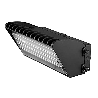 1000LED 70W LED Wall Pack Fixture 7200Lm Daylight 5000K AC110-277V UL DLC Approval 400W HID Replacement