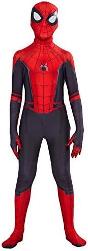 Spider-Man Far From Home Cosplay Costume Spiderman Kids Zentai Jumpsuit Bodysuit