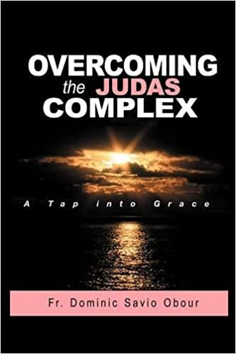 OVERCOMING THE JUDAS COMPLEX A Tap into Grace by Fr. Dominic Savio Obour (2012-08-22)