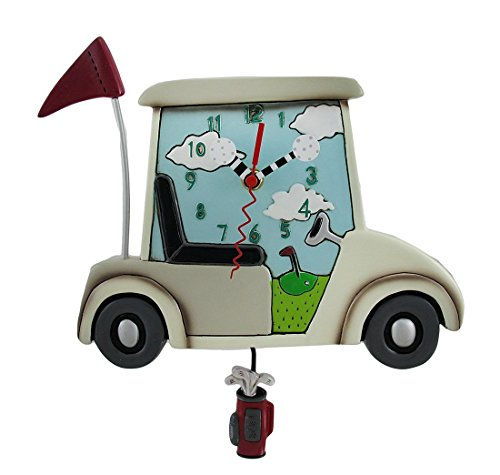 Tee Time Golf Clock - Allen Designs