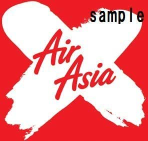 Amazon.com : In aviation sticker AirAsia X waterproof