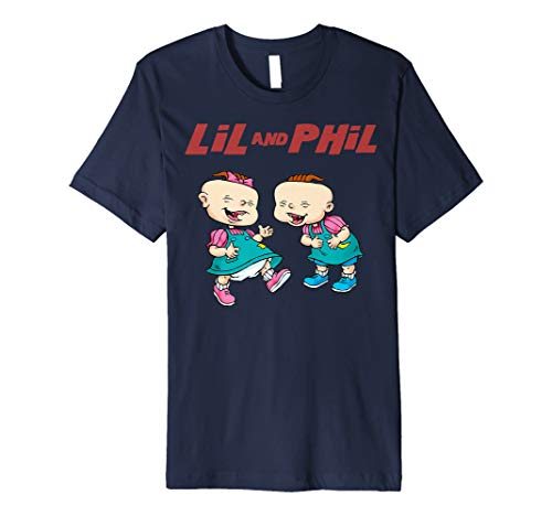 Rugrats Lil And Phil Laughing Poster  Premium ()