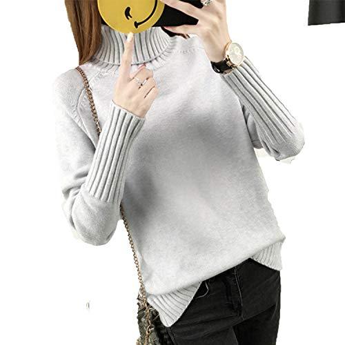 Winter Sweater Women Turtleneck Long Sleeve Tricot Women Swe