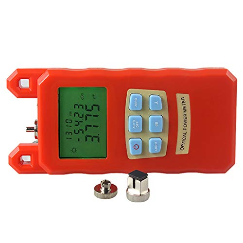 Baosity Portable Optical Fiber Power Meter Tester Measure -70dBm~+10dBm and 30mW 10-30KM Visual Fault Locator Fiber Tester Detector Meter by Baosity (Image #2)