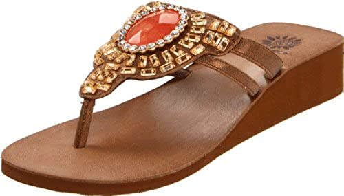 12. Yellow Box Women's Olympia Flip Flop