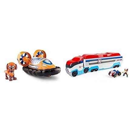 Paw Patrol Zuma's Hovercraft, Vehicle and Figure Spin Master 20065126-6024015