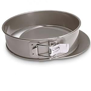 Molde para tartas con base plana para horno - a prueba de fugas-