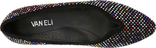 Toe Vaneli Womens multi Black Ganet Suede Mules Closed Stones ftwFntxTq