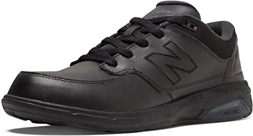 New Balance Men's MW813 Walking Shoe-M Walking Shoe, Black, 7 2E US (813 Fashion Shop)