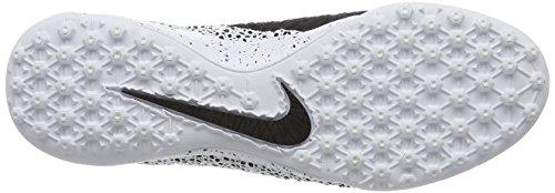 Nike Hypervenomx Finale Tf, Botas de Fútbol para Hombre Blanco / Negro / Verde (White / Black-Green Glow-White)