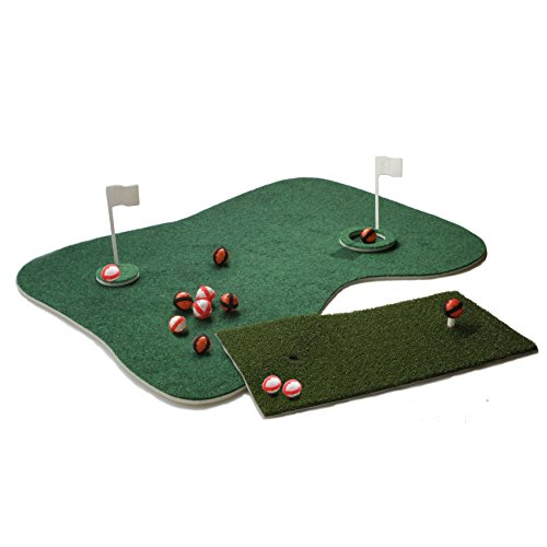 Putt-A-Bout Aqua Golf Floating Putting Mat Green