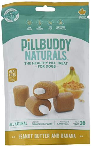 Pill Buddy Naturals Peanut Butter & Honey 30Ct