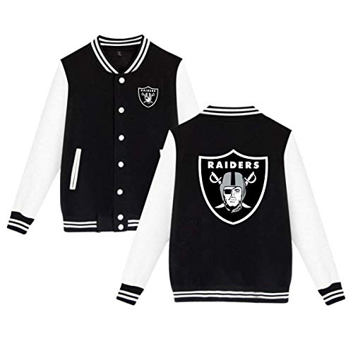 Uniform Varsity - Jeffredy Design American Football Team Oakland Men's Varsity Uniform Cotton Baseball Jacket Women Casual Hoodie Sweater Coat XXL