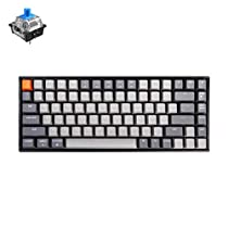 Keychron K2 84 Key White LED Backlit Bluetooth Wireless Mechanical Keyboard
