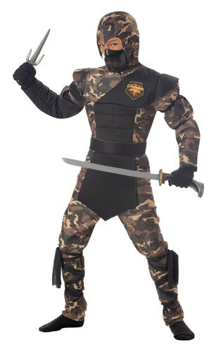 Operation Halloween Costume (California Costumes Toys Special Ops Ninja, Large)