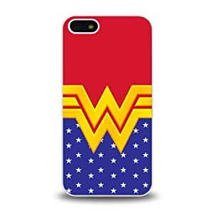 iPhone 5 5S case protective skin cover with American TV comics Wonder Woman hot design #1