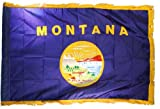 US Flag Store Montana State Flag 3x5ft Nylon with Indoor Pole Hem and Fringe Review