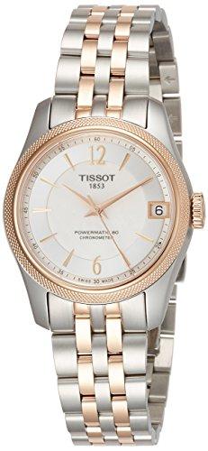 [해외] [T 소] TISSOT 손목시계 발라드 오토마팃쿠 COSC 파워마팃쿠80 화이트 마더 오브 펄 문자판 브레스서머 T1082082211701 레이디스 [정규 수입품]