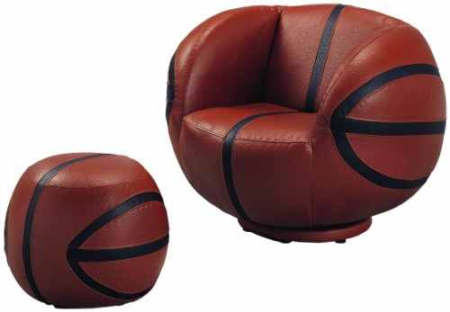 Crown Products Basketball Chair/Ottoman