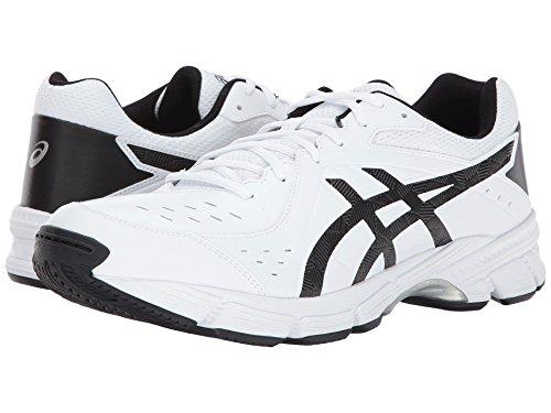 [asics(アシックス)] メンズランニングシューズ?スニーカー?靴 Gel-195 TR White/Black/Silver 7.5 (25.5cm) EE - Wide