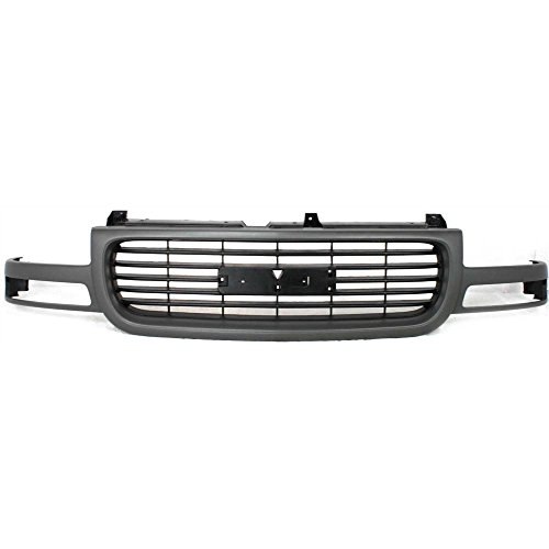 Grille for GMC Sierra 99-02/GMC Yukon 00-06 Paint To Match Plastic