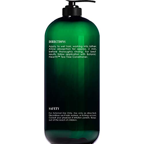 Botanic Hearth Tea Tree Shampoo and Conditioner Set  with 100 Pure Tea Tree Oil for Itchy and Dry