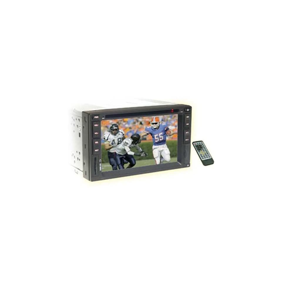 NITRO BMW 4763 6.2 TFT Touch Screen Two Din, AM/FM Radio, DVD/CD Player, In