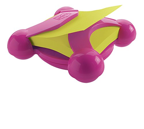 Post-it Pop-up Notes Dispenser for 3 x 3-Inch Notes, Pink with Notes from The Electric Glow Collection