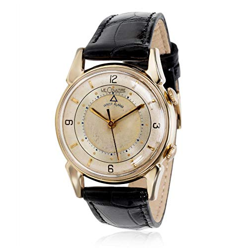(Jaeger LeCoultre Memovox Mechanical-Hand-Wind Male Watch 2052-1 (Certified Pre-Owned))