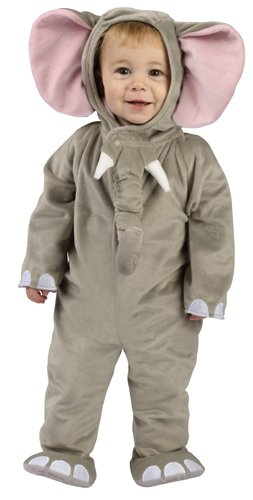 (Cuddly Elephant Infant Costume,)