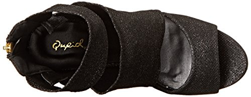 Qupid Women's Grammy 94 Dress Sandal Black 0sMLiZ