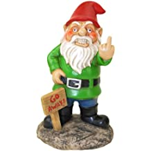 BigMouth Inc Go Away Garden Gnome