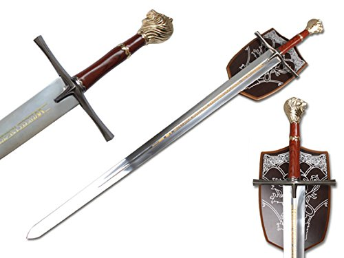 Chronicles of Narnia Prince Sword Replica with Wall (Chronicles Of Narnia Sword)