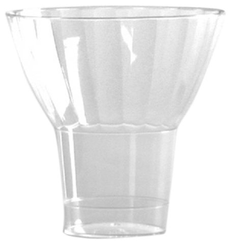 Classic Parfait Clear Rigid Plastic Parfait Cup, 9 Ounce (240-Count)