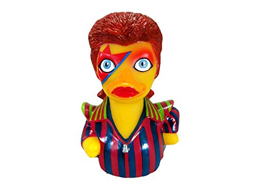 CelebriDucks Ziggy StarDuck Rubber Duck Bath Toy]()