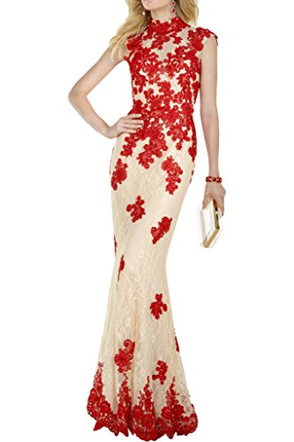 Promgirl House - Robe - Crayon - Femme rouge rot