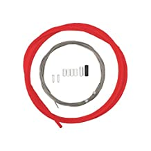 Shimano PTFE Road Shift Cable and Housing Set (Red) by Shimano