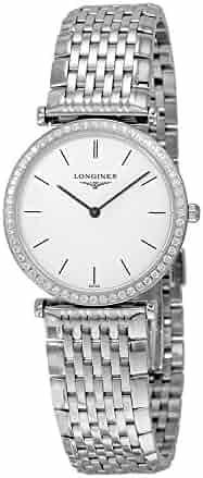 Longines La Grande Classique White Dial Stainless Steel Ladies Watch L4.513.0.12.6