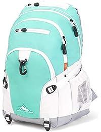 Loop Backpack, Aquamarine/White/Ash, 19 x 13.5 x 8.5-Inch