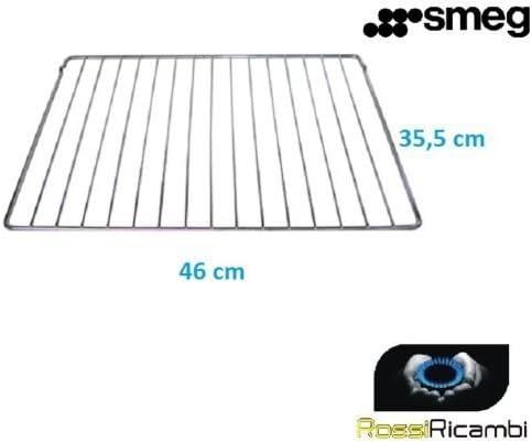 Smeg – Rejilla de acero para horno SC106-8 – Estante central Original – 844091541: Amazon.es: Hogar