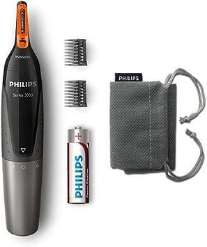 Philips NT3160/10 - Recortador de vello, nariz y orejas ...