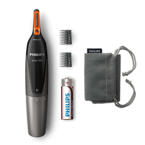 Price comparison product image Philips NT3160/10 Nose Hair, Ear Hair and Eyebrow Trimmer Series 3000