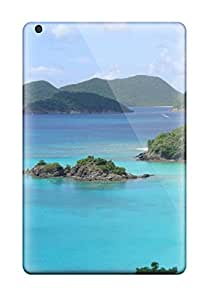 Hot Anti-scratch And Shatterproof A Lot Of People In The Water And On The Beach Phone Case For Ipad Mini 2/ High Quality Tpu Case 5986082J62870605
