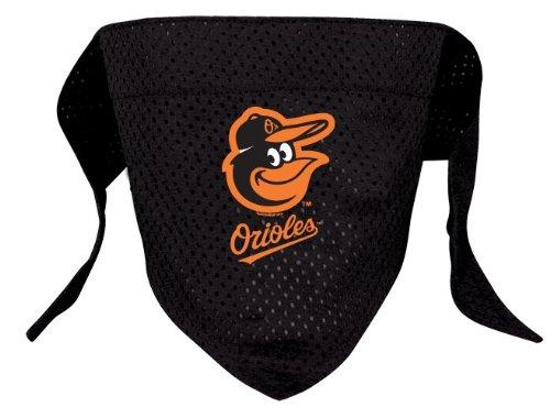 Baltimore Orioles Pet Dog Baseball Jersey Bandana M/L, My Pet Supplies