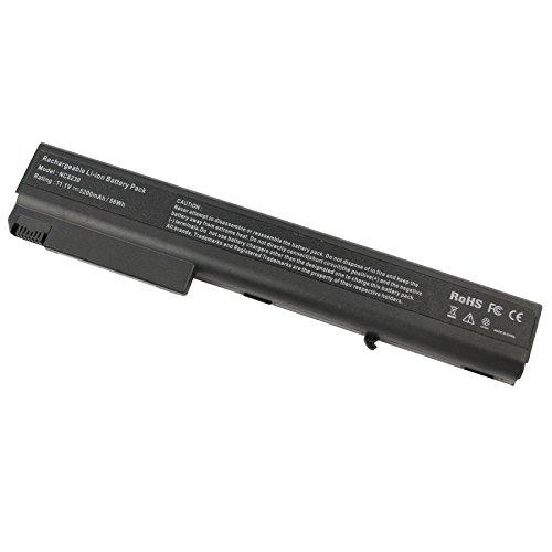 Compaq NX9420 Laptop Battery fit HP Compaq 8510 8510W 8710W 8710P 8510P NC8430 NX7400 NX8200 NX8230 NX9400, fits P/N PB992A - 12 Months Warranty [6-Cell Li-ion 5200mAh] -Futurebatt (Battery For Compaq Laptop)
