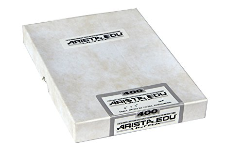 Arista EDU Ultra 400 ISO Black & White Film, 4x5, 50 Sheets