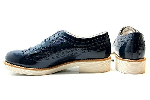 Piel Giardini beige para Size mujer de 39 cordones de Zapatos Nero qXwPOdX