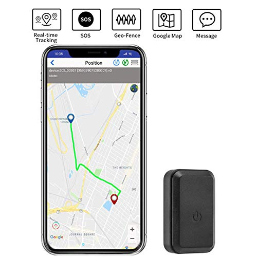 GPS Tracker Mini Portable SOS GPS Location Tracker with Real Time Anti-Theft Spy No Monthly Fee 2G GSM Finder Tracking for Elder Pets Car Kids Dogs Cats Keys