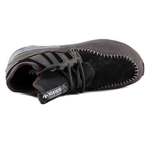 Adidas Buisvormige Moc Runner Heren Hardloopschoenen-shoes Cblack / Cblack / Nbrown